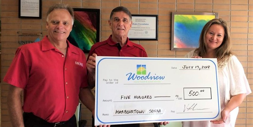 Harbourtown Donation to Woodview